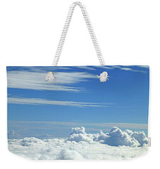 Weekender Tote Bag featuring the photograph Clouds And Sky M4 by Francesca Mackenney