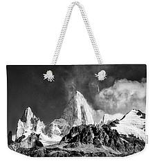 Clouds Around Fitz Roy #2 - Patagonia Weekender Tote Bag by Stuart Litoff