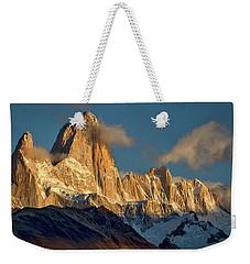 Clouds Around Fitz Roy #3 - Patagonia Weekender Tote Bag by Stuart Litoff