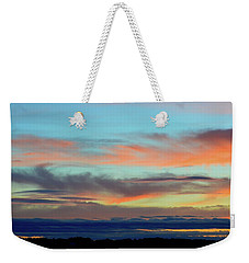 Clouds At Different Altitudes  Weekender Tote Bag