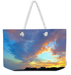 Clouds At Sunset Weekender Tote Bag by Betty Buller Whitehead