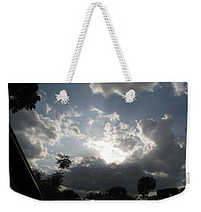 Clouds Buildup Weekender Tote Bag