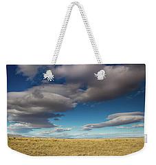 Clouds In Fields Oregon Weekender Tote Bag