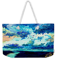 Clouds Weekender Tote Bag by Melinda Dare Benfield