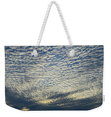 Weekender Tote Bag featuring the photograph Clouds Of That Day  by Lyle Crump