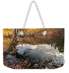 Clouds On The Lake Weekender Tote Bag