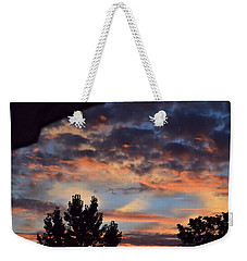 Clouds Or Sun ? Weekender Tote Bag by Kathy Eickenberg