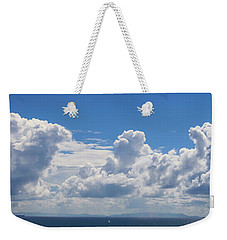 Clouds Over Catalina Island - Panorama Weekender Tote Bag
