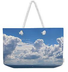 Clouds Over Catalina Island - Panorama Weekender Tote Bag