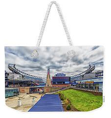 Clouds Over Gillette Stadium Weekender Tote Bag