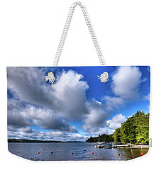 Weekender Tote Bag featuring the photograph Clouds Over Palmer Point by David Patterson