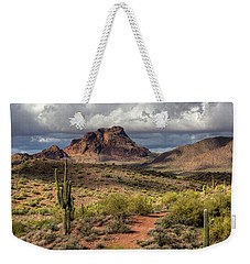 Clouds Over Red Mountain Weekender Tote Bag