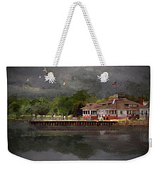 Clouds Over The Harbor Weekender Tote Bag