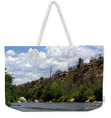 Clouds Over The Kern Weekender Tote Bag