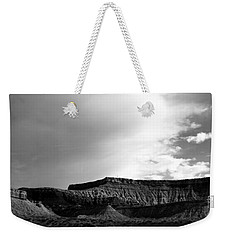 Clouds  Over The Mesa Weekender Tote Bag