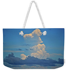 Clouds Over Tybee Island Weekender Tote Bag by Tara Potts