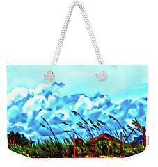 Clouds Over Vilano Beach Weekender Tote Bag