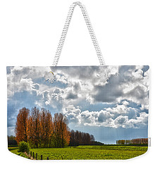 Clouds Over Voorne Weekender Tote Bag