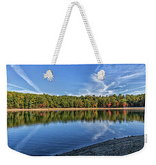 Clouds Over Walden Pond Weekender Tote Bag