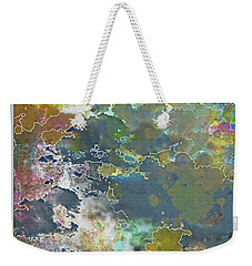 Clouds Over Water Weekender Tote Bag by Deborah Nakano