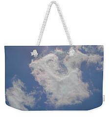 Clouds Rainbow Reflections Weekender Tote Bag by Cindy Croal