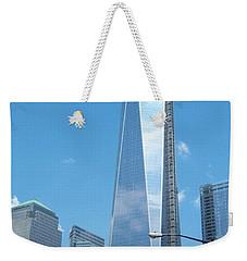 Clouds Reflection Weekender Tote Bag