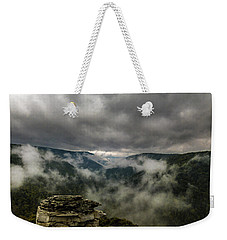 Clouds Rising At Lindy Point Weekender Tote Bag
