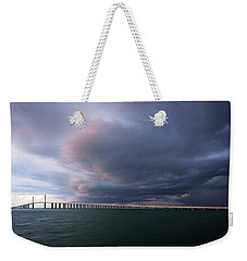 Clouds Roll Over Sunshine Skyway Weekender Tote Bag