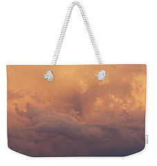 Weekender Tote Bag featuring the photograph Cloudscape by Dustin LeFevre