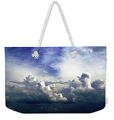 Cloudscape Fourteen Weekender Tote Bag by Tom Druin