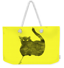 Cloudy Cat Weekender Tote Bag