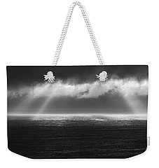 Cloudy Day At The Sae Weekender Tote Bag