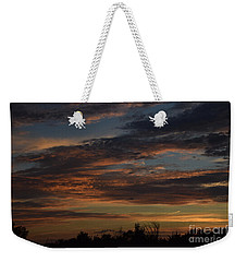 Cloudy Kansas Evening Weekender Tote Bag by Mark McReynolds