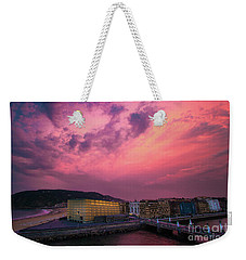 Weekender Tote Bag featuring the photograph Cloudy  by Mariusz Czajkowski