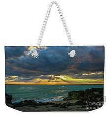 Cloudy Morning Rays Weekender Tote Bag by Tom Claud