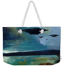 Cloudy Skies Weekender Tote Bag
