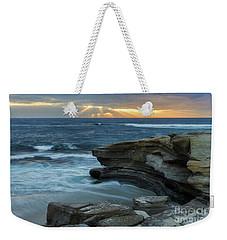 Cloudy Sunset At La Jolla Shores Beach Weekender Tote Bag