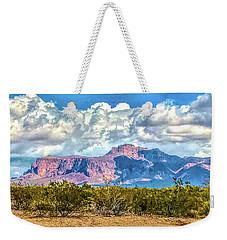Cloudy Superstition Weekender Tote Bag