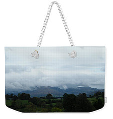 Cloudy View Weekender Tote Bag