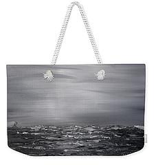 Cloudy Waves 12 Weekender Tote Bag