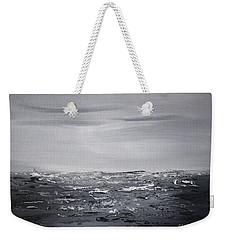 Cloudy Waves 4 Weekender Tote Bag