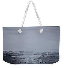 Cloudy Waves 5 Weekender Tote Bag
