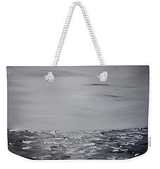 Cloudy Waves 9 Weekender Tote Bag