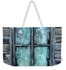 Cloudy Window Weekender Tote Bag