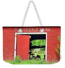 Clover Dale Farm Weekender Tote Bag
