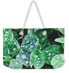 Clover Drops Weekender Tote Bag