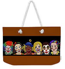 Clown Alley By Megan Dirsa-dubois Weekender Tote Bag by Megan Dirsa-DuBois