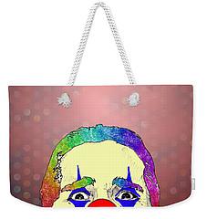 clown Christian Bale Weekender Tote Bag