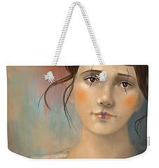 Clown Girl Weekender Tote Bag