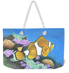 Clownfish Weekender Tote Bag by Troy Levesque